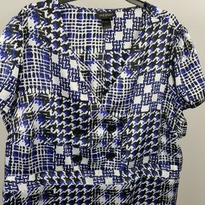 Lane Bryant Blouse Top Made In USA Plus Size 26 28
